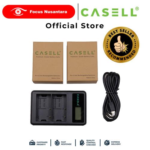 Foto Produk CASELL BLF-19 Battery Pack + Dual Charger dari Focus Nusantara