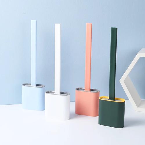 Foto Produk Sikat Silikon Pembersih Toilet Wc Fleksibel Silicone Toilet - Hijau dari DariDuaSatu