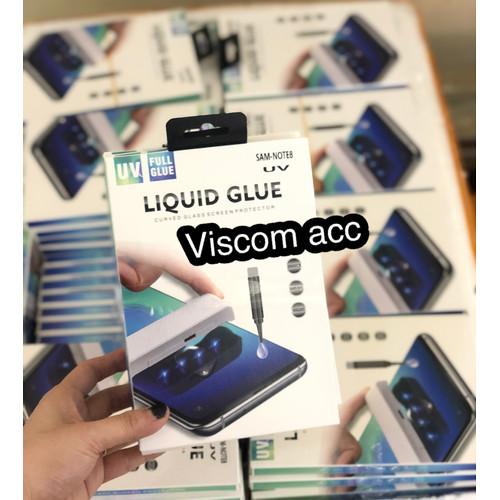 Foto Produk Tempered glass uv samsung Note 8. S7edge. S8. S8+. S9. S9+ cairan dari Viscom Acc