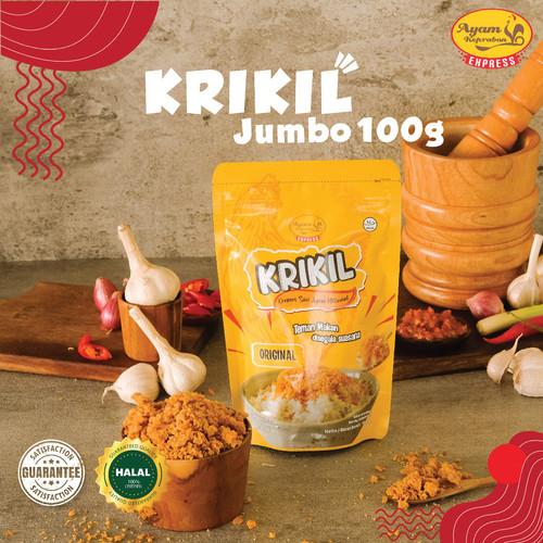 Foto Produk KREMESAN SARI AYAM KEPRABON (KRIKIL) ORIGINAL 100 gr dari Ayam Keprabon Indonesia
