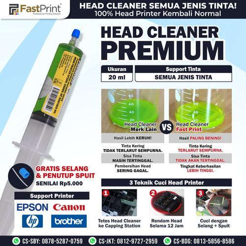 Foto Produk Head Cleaner Premium Fast Print 20 ML dari Fast Print Indonesia