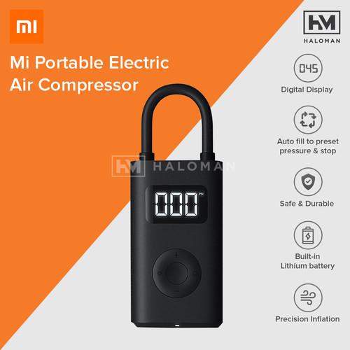 Foto Produk Xiaomi Mijia Portable Inflatable Treasure Pump Air Compressor Pompa dari haloman.id