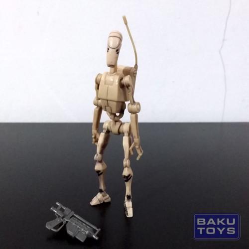 Foto Produk Star Wars 3.75 Battle Droid TCW dari BakuToys Collection