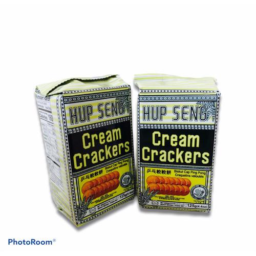 Foto Produk HUP SENG CREAM CRACKERS 428gr /BISKUIT ASIN - TANPA BUBBLE dari CHRISTINESHOP.ID