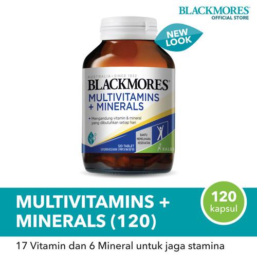 Foto Produk Blackmores Multivitamins + Minerals (120) dari Blackmores Wellness