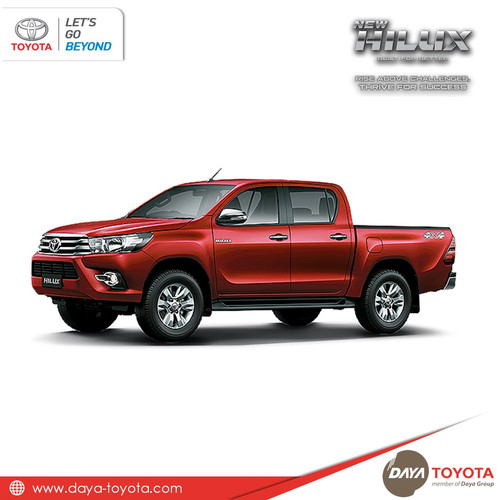 Foto Produk New Hilux Double Cabin All Variant dari Daya Toyota Official