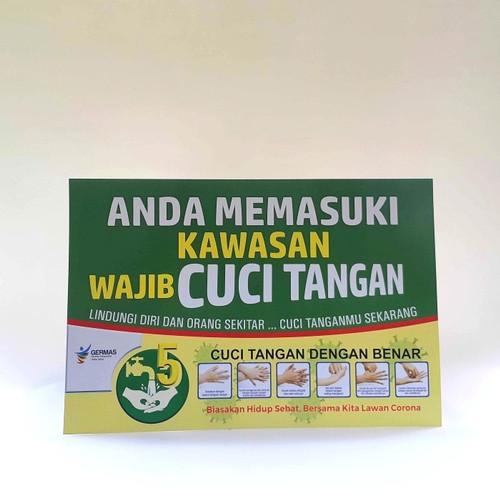 Foto Produk Poster Kawasan Cuci Tangan dari Syafana