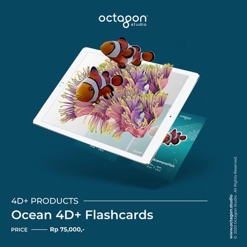 Foto Produk Kartu Ocean 4D+ - Mainan Edukasi Anak (Octagon Studio) dari OctagonStudio