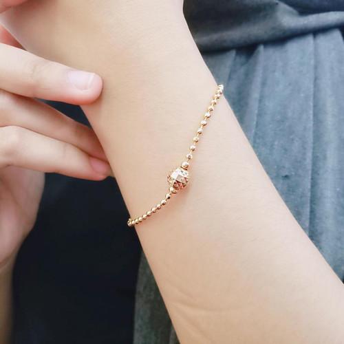 Foto Produk Gelang Tangan Rantai Wanita Lapis Emas Missi Fashion Jewelry dari Missi Fashion Jewelry