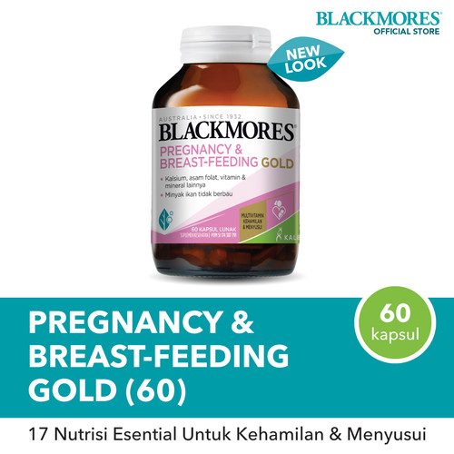 Foto Produk Blackmores Pregnancy & Breast - Feeding Gold (60) dari Blackmores Wellness