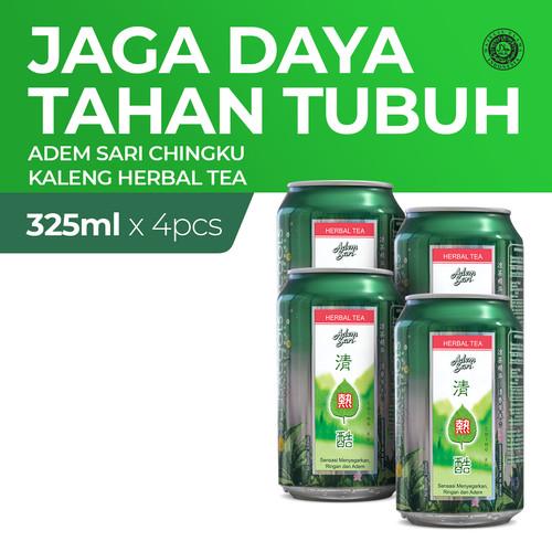 Foto Produk Adem Sari Ching Ku Minuman Penyejuk Herbal Tea 4x325 ml dari Enesis Official Store