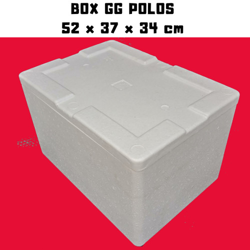 Foto Produk STEROFOAM BOX BESAR GG 52 x 37 x 34 dari master ikan
