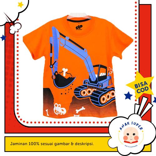 Foto Produk Baju/Kaos Anak Lengan Pendek Motif CRANE TURKISH ORANGE 1 - 10 Tahun - 1-2 Tahun dari Anak Super