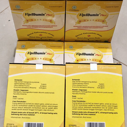 Foto Produk VIPALBUMIN SACHET - 1 box dari Devin Farma1
