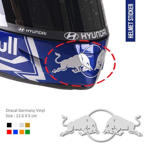 Foto Produk Sticker Redbull Mulut Body Helm kyt shoei arai shark kbc ink dari Fuel
