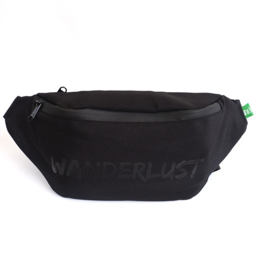 Foto Produk Wanderlust Tas Selempang Anti Air Waterproof Waistbag Bruges Black dari Wanderlustbag Official