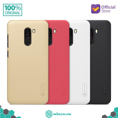 Foto Produk Nillkin Frosted Hard Case Xiaomi Pocophone F1 - Hitam dari Nillkin Official