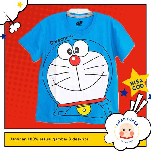 Foto Produk Baju/Kaos Anak Lengan Pendek Motif Doraemon 1 - 10 Tahun - 1-2 Tahun dari Anak Super