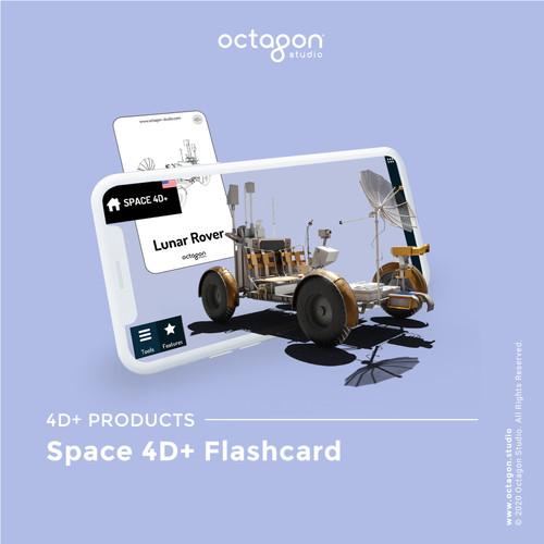 Foto Produk Kartu Space 4D+ 26 Cards - Mainan Edukasi Anak (Octagon Studio) dari OctagonStudio