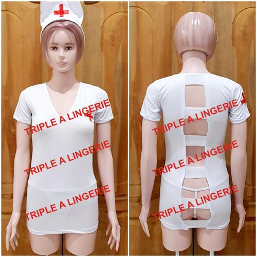 Foto Produk Sexy Lingerie Costume Nurse Murah TA0054WE dari Lingerie Murah Jogja