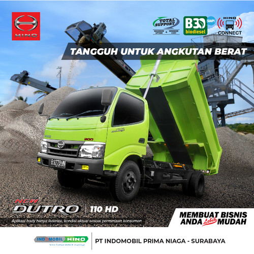 Foto Produk HINO Truck Dutro 110 HD dari INDOMOBIL_HINO_JATIM