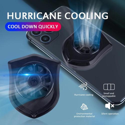 Foto Produk P11 Universal Mobile Phone cooler Kipas Mini Pendingin Hp PUBG FF dari LOTUS ACCESORIESS