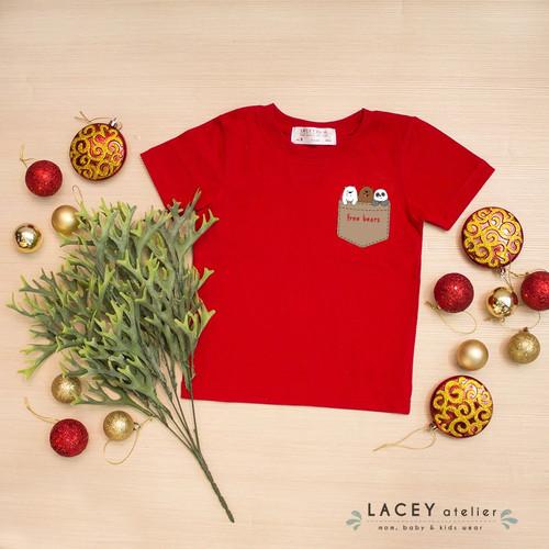 Foto Produk Kaos Anak dan Dewasa We Bare Bears Tee Lacey Atelier - M 3-4 tahun dari LACEY atelier