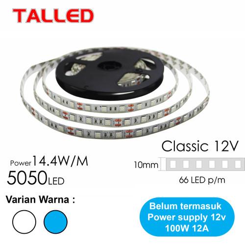 Foto Produk Lampu LED Strip Mata Besar 5050 12V TALLED - Putih dari JNJ Talled
