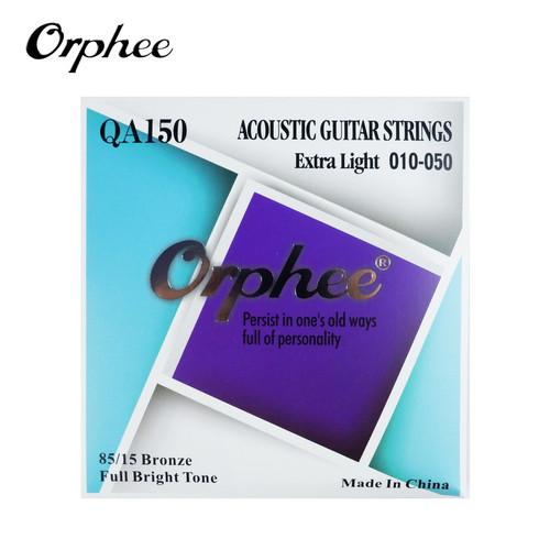 Foto Produk Orphee QA150 10-50 Senar Gitar Akustik String 85/15 Bronze dari Grandia Shop