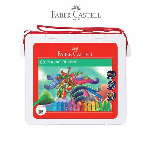 Foto Produk Crayon / Oil Pastel Faber Castell 60 Warna dari SALAMAH JAYA UTAMA