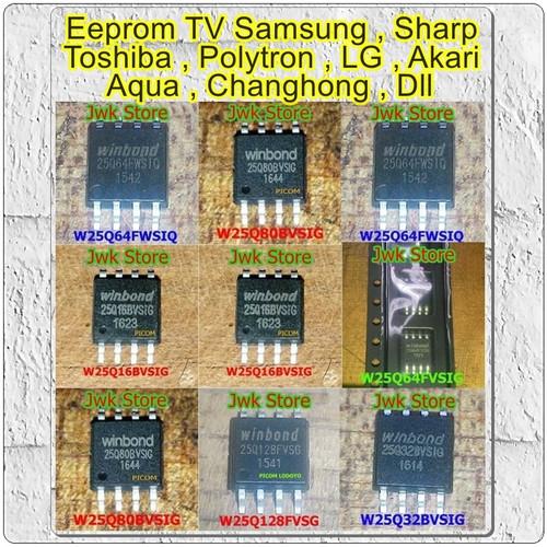 Foto Produk IC Eeprom Firmware TV LED 25Q32 25Q64 25L32 25L64 dari Jwk-Store