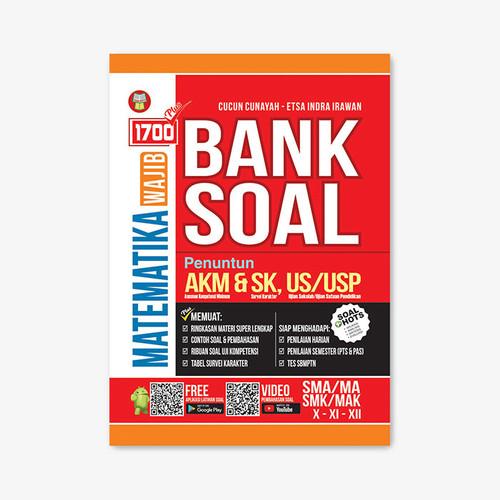 Foto Produk 1700 PLUS BANK SOAL MATEMATIKA WAJIB SMA/MA KURIKULUM 2013 REVISI dari Yrama Widya Online