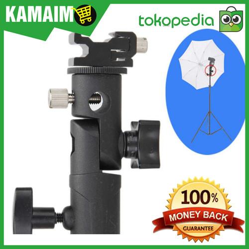 Foto Produk Hot Shoe Lampu Flash Kamera Tripod Light Stand dari Kamaimo