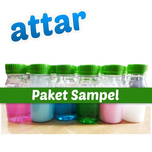Foto Produk ATTAR- Sampel Produk Cairan Pembersih Laundry, Rumah Tangga & Otomotif dari Tasneem