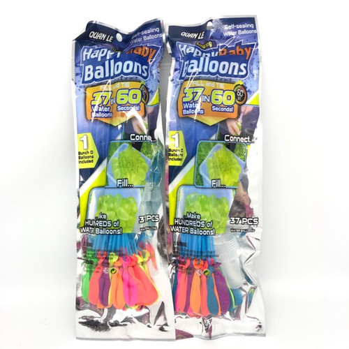 Foto Produk Balon Air / Water Balon / Battle Water Ballon isi 111 Pcs / 3 Ikat - ISI 37 PCS dari Balonku Shop