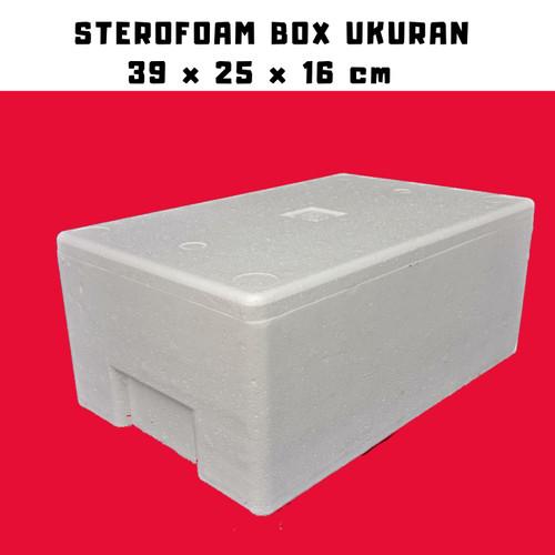 Foto Produk STEROFOAM BOX 5 KG UKURAN P 39 L 25 T 16 dari master ikan