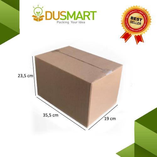 Foto Produk Kardus Packing Polos Uk 35,5x19x23,5 / Kardus Pindahan - Dusmart dari DUSMART Official Store