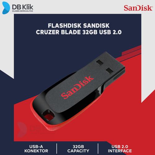 Foto Produk Flashdisk Sandisk Cruzer Blade 32GB dari dbclick