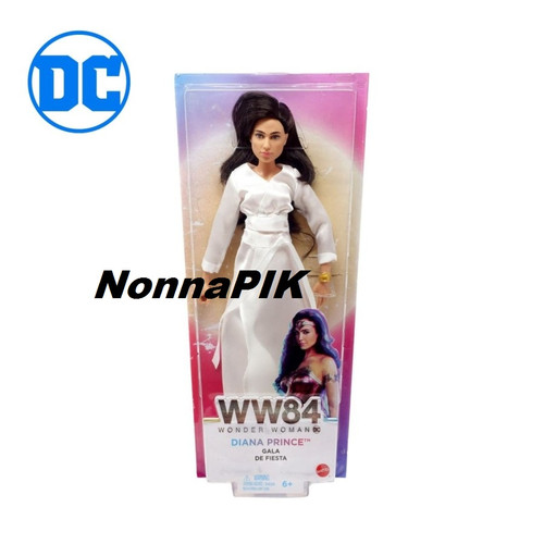 Foto Produk DC Comics Wonder Woman Diana Prince Gala Doll - Mainan Figure Mattel dari NonnaPIK