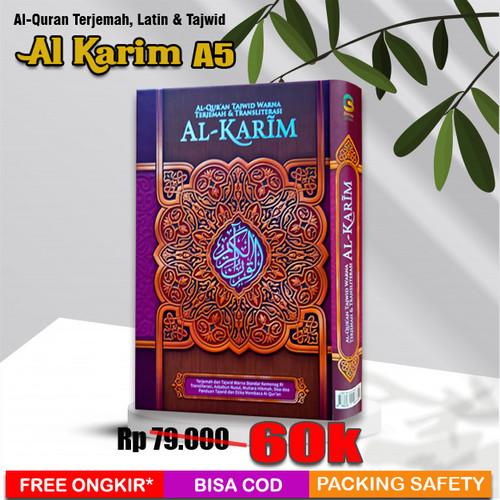 Foto Produk Al Quran Tajwid dan Latin Al Karim (A5) dari Grosir Produk Muslim