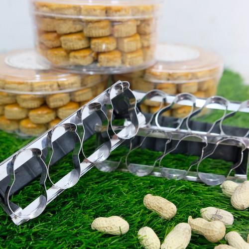 Foto Produk cetakan cookie kacang dapat 2pcs dari lawskitchen