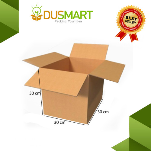 Foto Produk Kardus 30x30x30 / Karton /Box/Kotak Souvenir/Mug Polos - Dusmart dari DUSMART Official Store