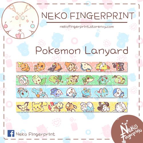Foto Produk Pokemon Lanyard - Electric type dari Neko Fingerprint