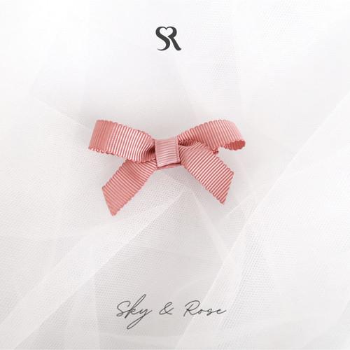 Foto Produk SKY&ROSE Petite Bow Hair Clip - Primrose dari Skyandrose