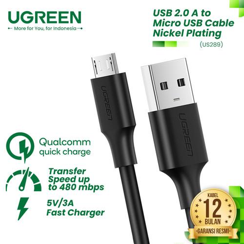 Foto Produk UGREEN Kabel Micro USB (Fast Charging) - US289 - Putih, 1m dari UGREEN Authorized Store