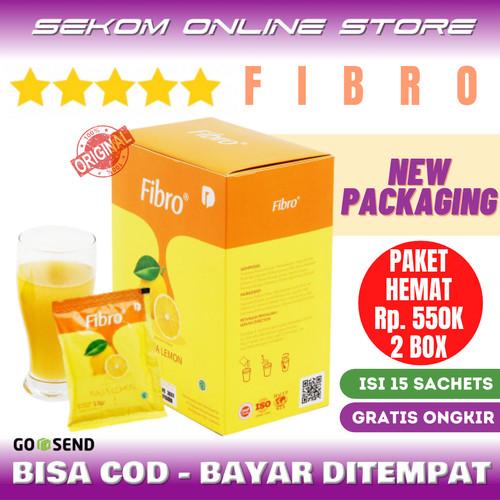 Foto Produk FIBRO Minuman Serat Alami Rasa Lemon Detoks Diet Original dari SEKOM ONLINE STORE
