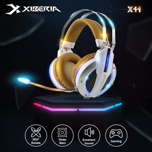 Foto Produk Xiberia X11 Deep Bass Headphones dari Xiberia Nubwo Official