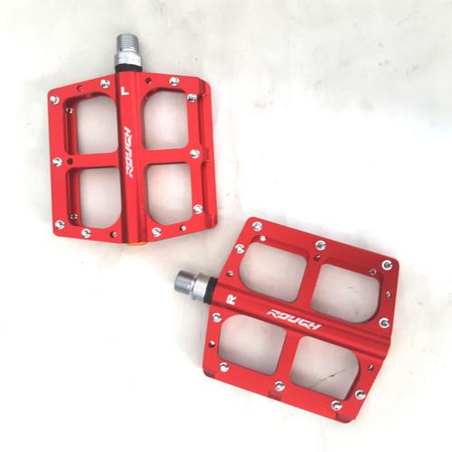 Foto Produk pedal rough tapak lebar bearing merah anodize dari farras bikes