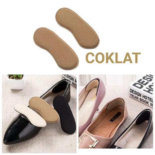 Foto Produk Insole Sepatu Anti Lecet / Insole Tambahan / Ganjelan Sepatu - Cokelat dari TOKO30_ID