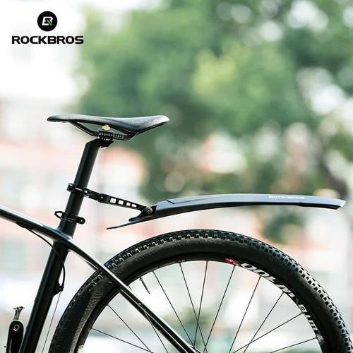 Foto Produk Fender Rockbros Spakbor Bike WS1001BK ~ Bike Bicycle MTB Fender guard dari Kaligung